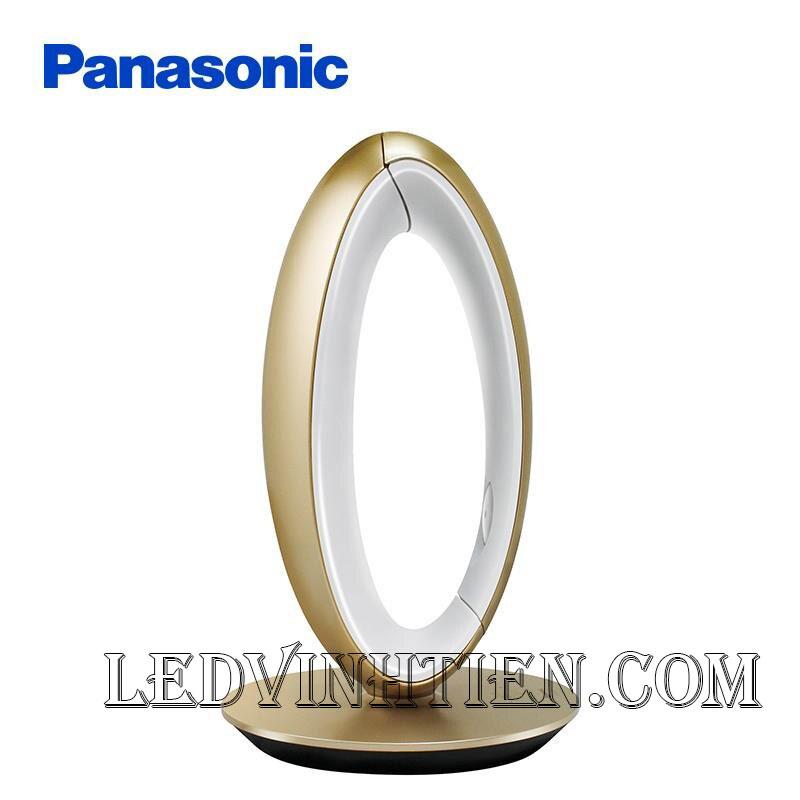 ĐÈN BÀN LED panasonic SQ - LE530K - N (Vàng đồng)