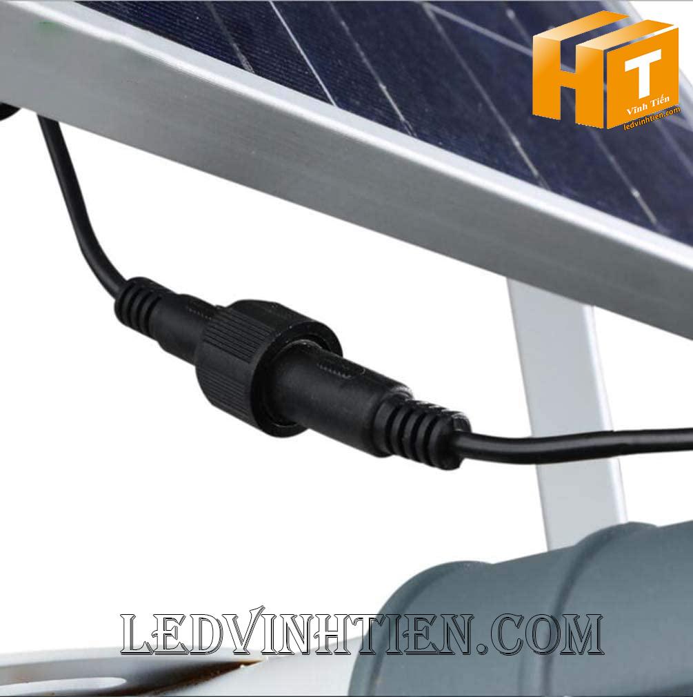 Đèn đường led năng lượng mặt trời 100W chiếc lá