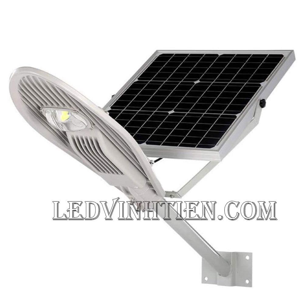 Đèn đường led năng lượng mặt trời 30W chiếc lá loại tốt, giá rẻ, ngoài trời, không tốn điện