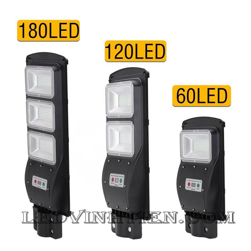 Đèn đường led năng lượng mặt trời 90W pin liền thể loại tốt, giá rẻ, ngoài trời, không tốn điện