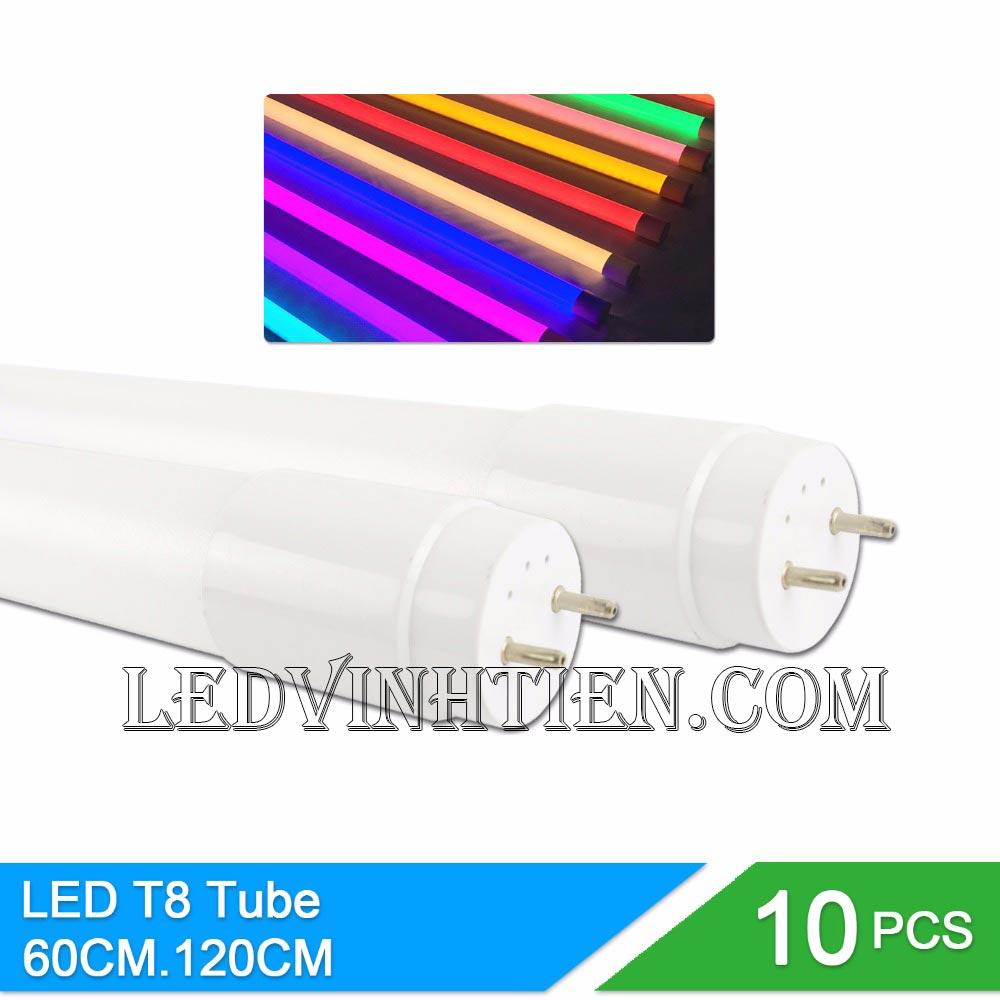 Bóng đèn LED tuýp T8 6 tấc 10W