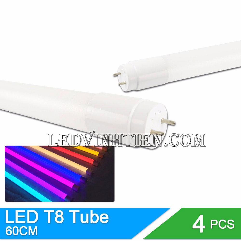 Bóng Đèn LED tuýp T8 6 tấc 10W loại tốt, giá rẻ, chất lượng, dùng chiếu sáng nội thất
