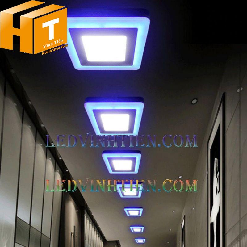 Led panel light 8+4w giá rẻ