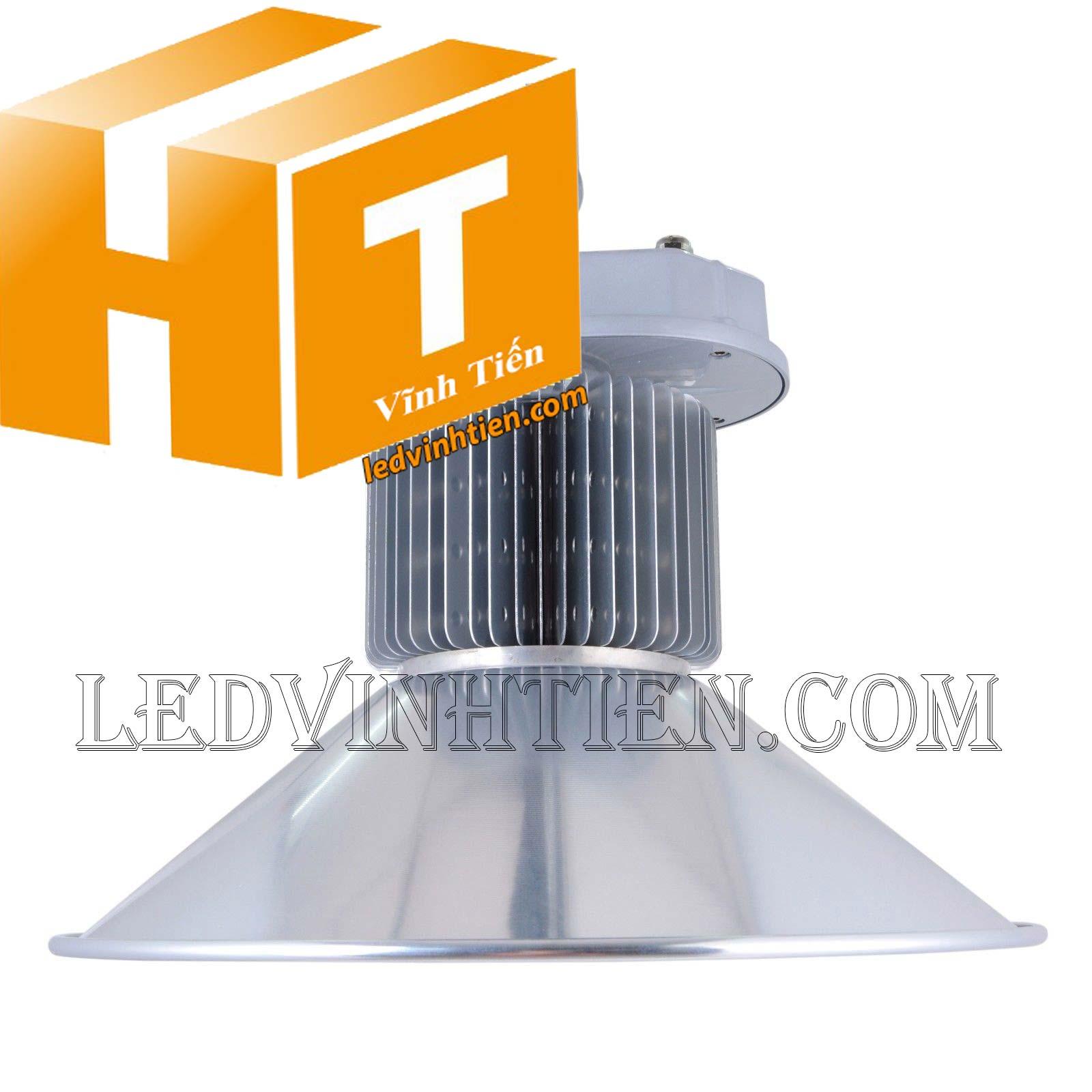 Đèn led nhà xưởng 200W loại tốt, giá rẻ, đủ công suất, Ledvinhtien.com