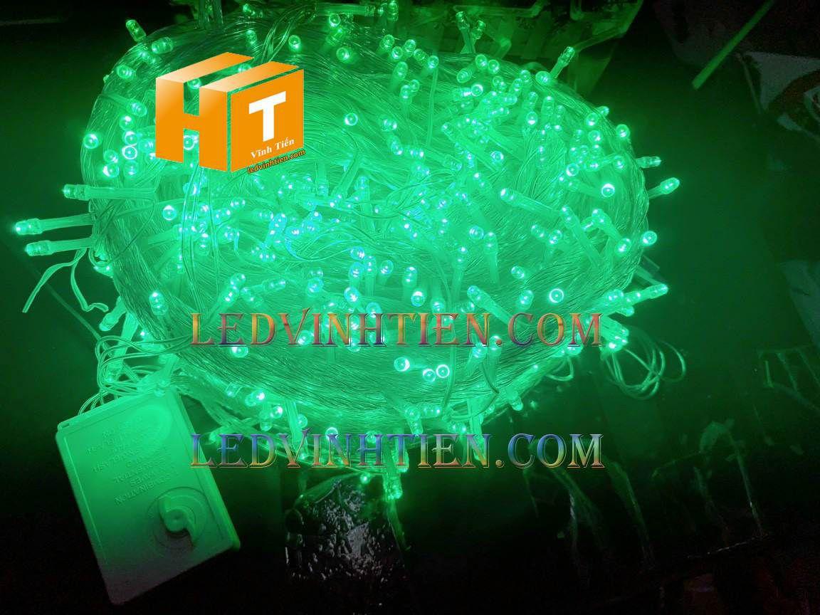 Đèn led noel màu xanh dương 100m chợ nhật tảo
