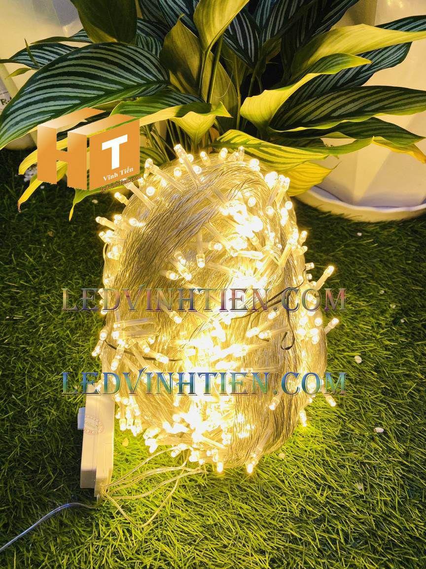 Đèn led noel màu vàng 100m siêu sáng