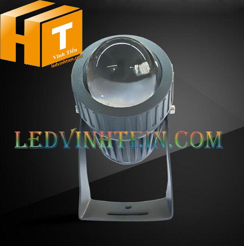 Đèn led chiếu cột 10W RGB loại tốt, giá rẻ, chất lượng, dùng ngoài trời, hiệu ledvinhtien.com