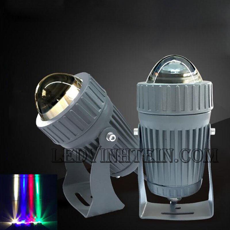 Đèn led chiếu cột 10W RGB