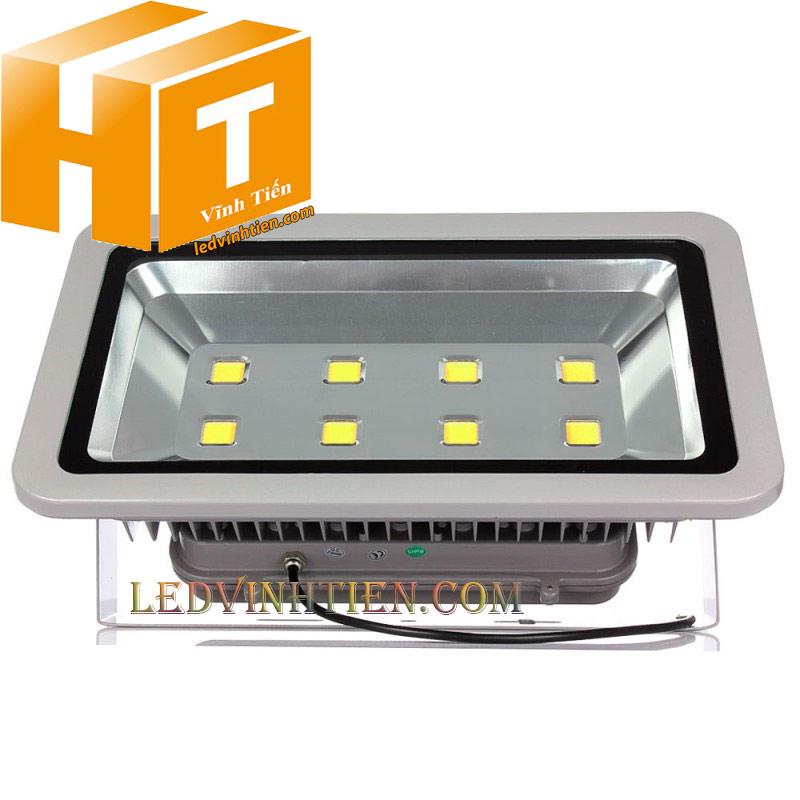 Đèn pha led 400W vỏ xám loại tốt, giá rẻ, ngoài trời, chính hãng ledvinhtien.com
