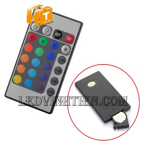remote dùng điều khiển đèn pha led