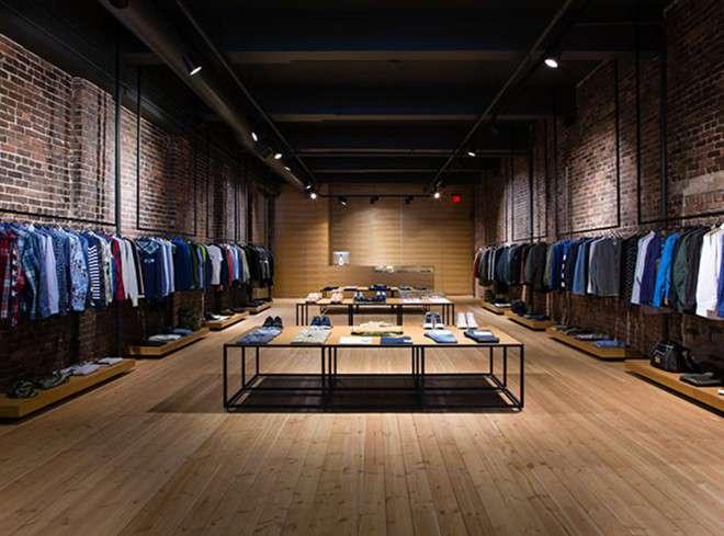 Đèn rọi ray chiếu Shop quần áo