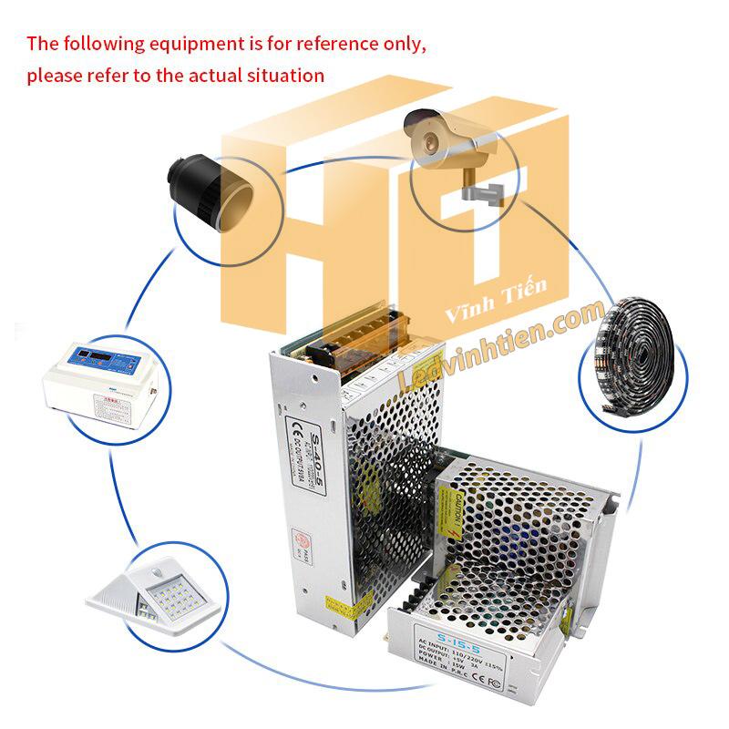 Ứng dụng và cách đấu nối bộ nguồn với các thiết bị