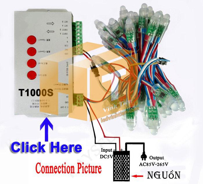 hướng dẫn cách đấu nối, cài đặt, lập trình Bộ nguồn tổng, nguồn tổ ong, nguồn dc 5V 60A 300W Loại nhỏ, siêu mỏng, gọn nhẹ, không quạt, loại tốt, giá rẻ, chất lượng, đủ ampe, dùng cấp nguồn DC5V cho đèn led, camera, bơm mini, bóng led đúc f5, f8, module led ma trận, tự động hóa, ledvinhtien.com