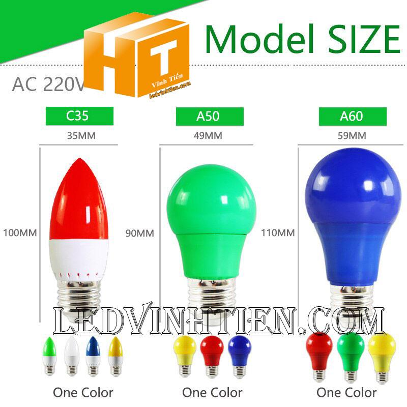 Bóng đèn led trái ớt 5W loại tốt, giá rẻ, chất lượng, siêu sáng