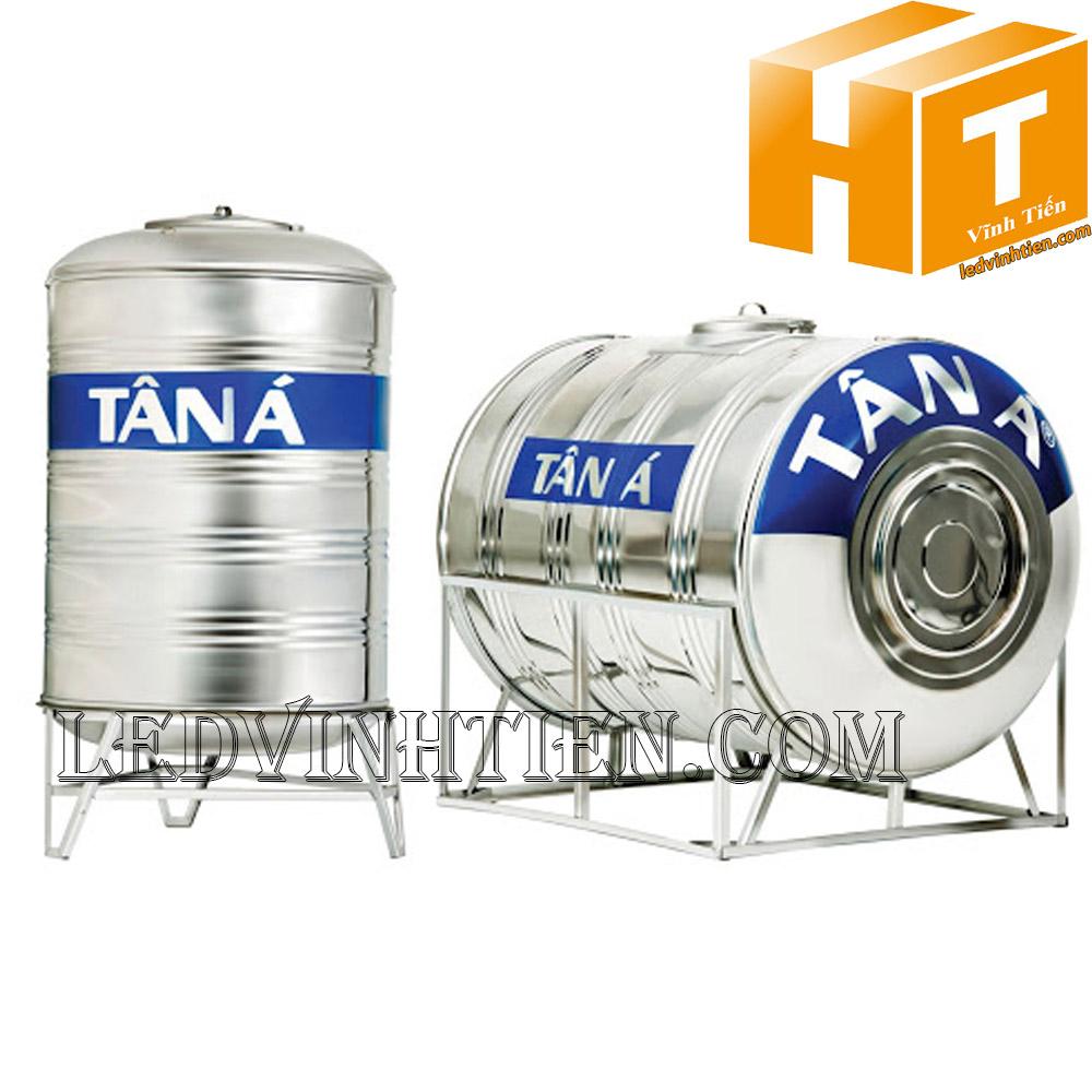Bồn nước inox 1000L Ngang - SUS 304 Tân Á Đại Thành loại tốt, giá rẻ, chiết khấu cao