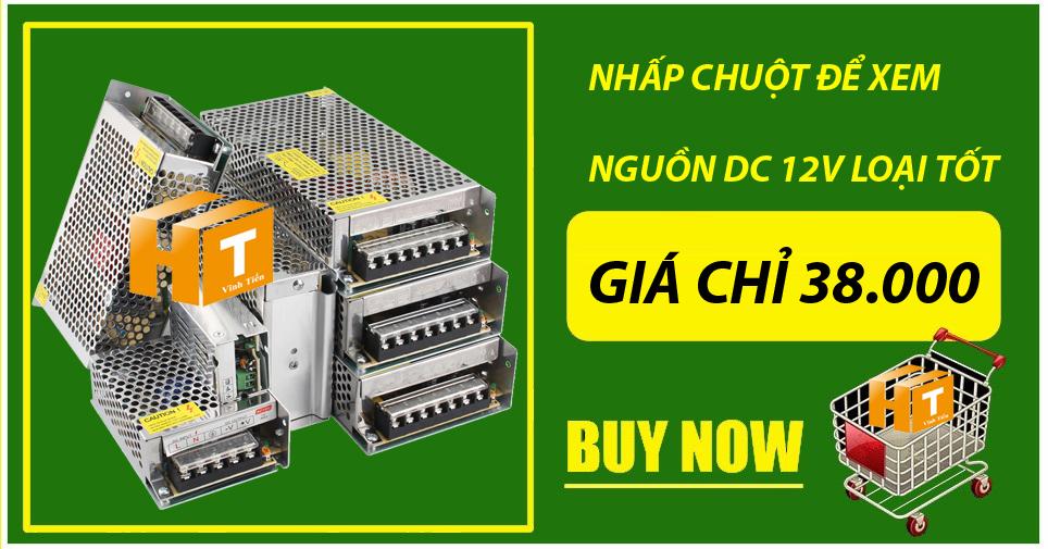 Mua nguồn DC12V loại tốt, giá rẻ, chất lượng giá chỉ 38.000 tại ledvinhtien.com
