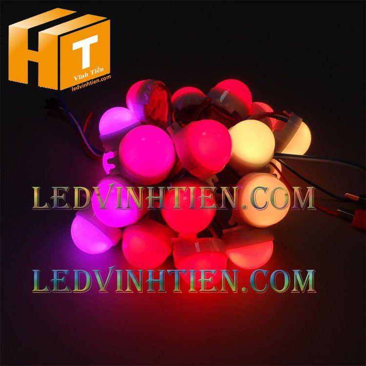 Led bát full color 50mm DC24V UCS 1903, led hắt chiếu điểm, led module 50MM, siêu sáng, giá rẻ, ledvinhtien.com