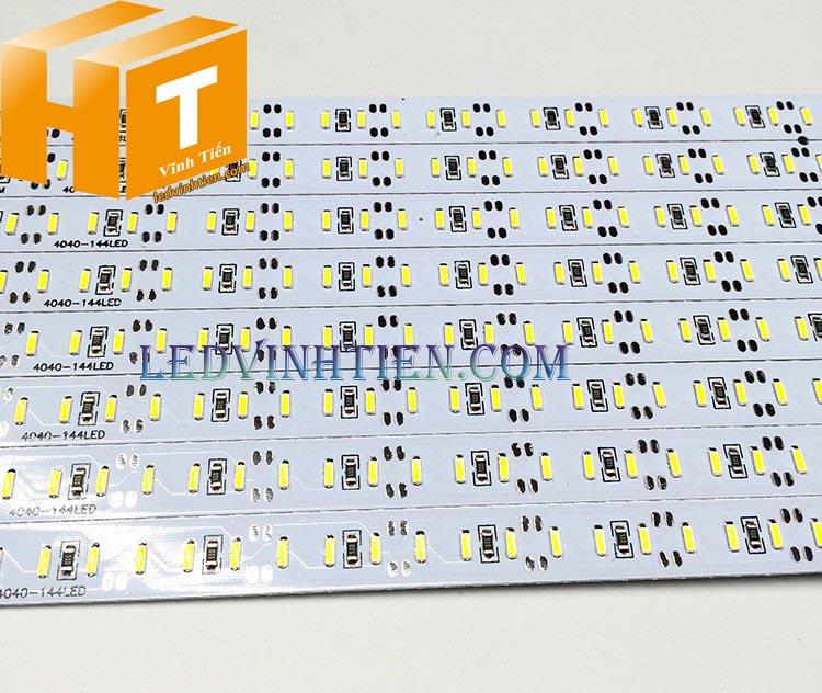 Đèn Led thanh nhôm 12V 4014 chip led đôi loại tốt, giá rẻ, siêu sáng, samsung dùng hắt chử quảng cáo, tủ kệ trưng bày