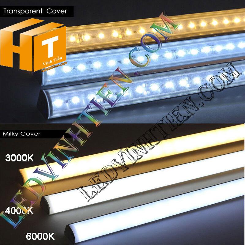 Led thanh nhôm 12V 4014 chip led đôi loại tốt, giá rẻ, siêu sáng, samsung, ánh sáng trắng, vàng