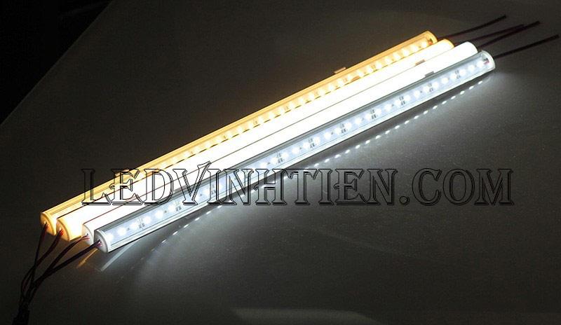 Led thanh nhôm 12V 4014 chip led đôi loại tốt, giá rẻ, Ledvinhtien.com