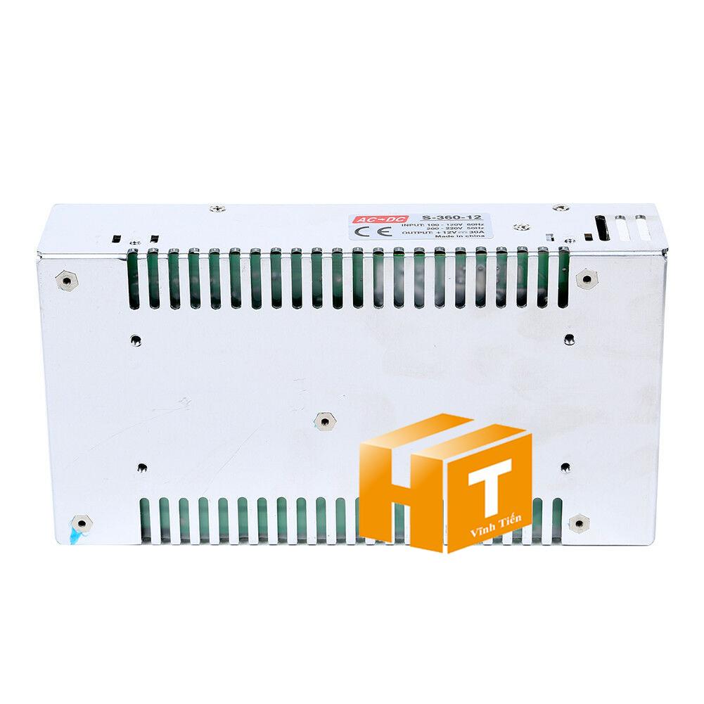 Nguồn tổ ong hay còn gọi là nguồn tổng, nguồn led 12V 30A được cấp nguồn DC12V camera, Led quảng cáo, led hắt, bóng led đúc f5, led module, các loại đèn led chiếu sáng, như led thanh, led module, led dây, bơm mước mini, tự động hóa, BOARD MẠCH ĐIỆN TỬ XEM hình ảnh chụp mọi góc cạnh của bộ nguồn tổ ong 12V 30A 360W loại tốt, giá rẻ, chất lượng, đủ ampe, có quạt, nhôm tản nhiệt, sản phẩm chính hãng ledvinhtien.com