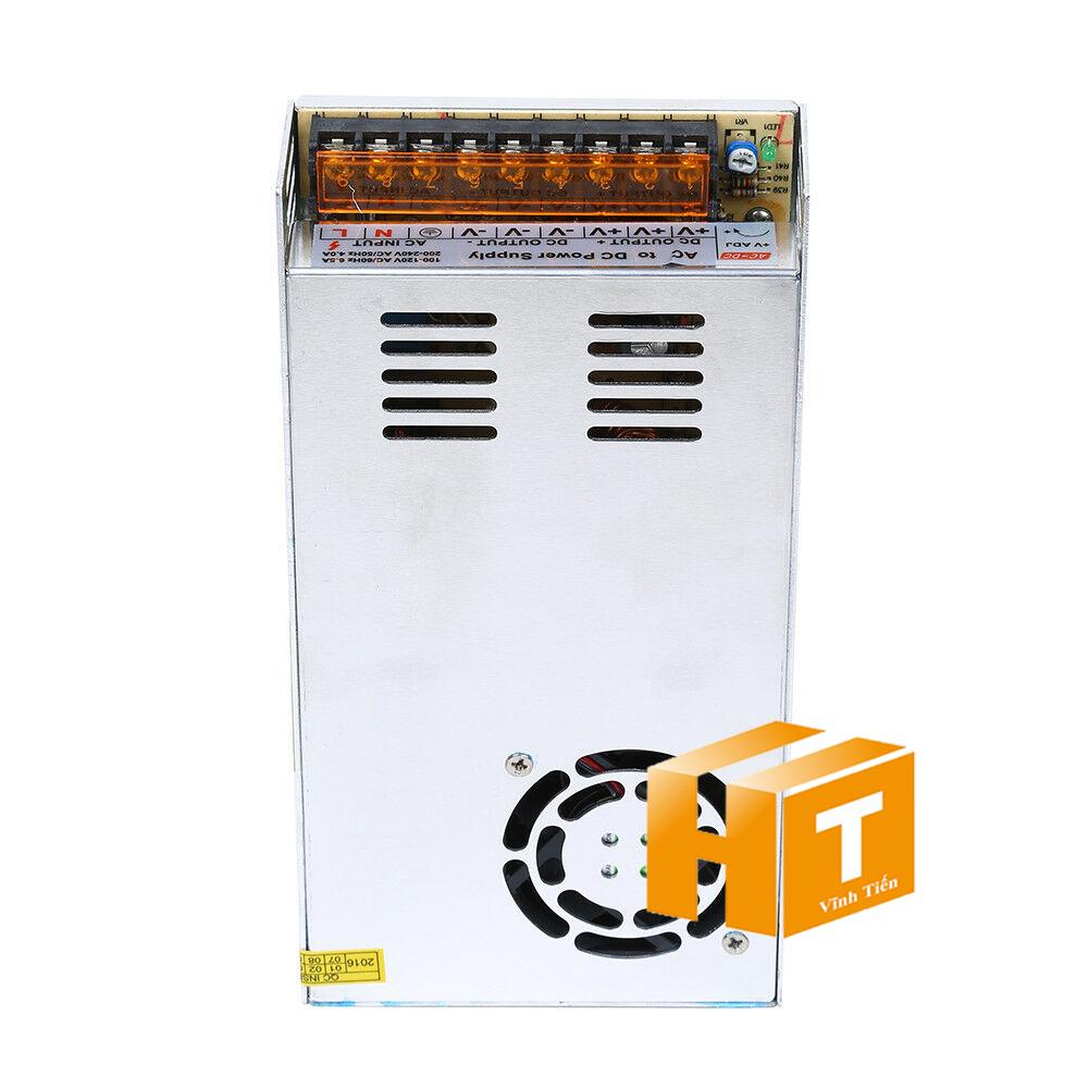 Nguồn tổ ong 12v 30a loại tốt, giá rẻ, đủ ampe, chất lượng, có quạt, không nhiễu, dùng cấp nguồn 12v cho các thiết bị điện tử, đèn led, camera