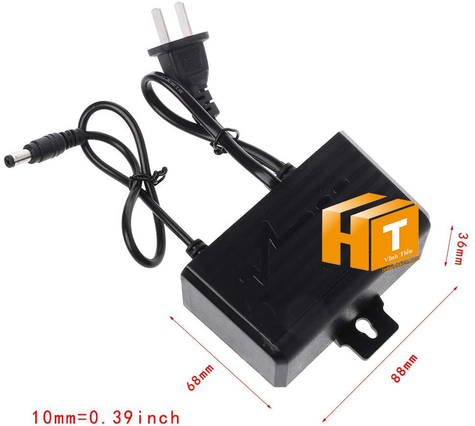 Adapter 12v 2a hay còn gọi nguồn adapter, adaptor 12V 2A nhỏ được cấp nguồn DC12V camera, Led quảng cáo, led hắt, led module, các loại đèn led chiếu sáng, như led thanh, led module, led dây, bơm mước mini, tự động hóa, BOARD MẠCH ĐIỆN TỬ XEM hình ảnh chụp mọi góc cạnh của nguồn adapter 12v 2a 24W loại tốt, giá rẻ, chất lượng, đủ ampe, có quạt, nhôm tản nhiệt, sản phẩm chính hãng ledvinhtien.com Hình ảnh chụp mọi góc cạnh của adapter DC12V 2A nhỏ