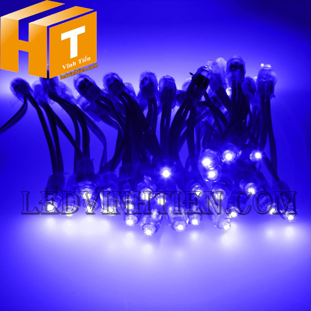 Phân phối sỉ Led đúc F5 màu trắng loại tốt, giá rẻ, siêu sáng, samsung, dùng ngoài trời, hắt bảng hiệu hộp đèn quảng cáo, ledvinhtien.com