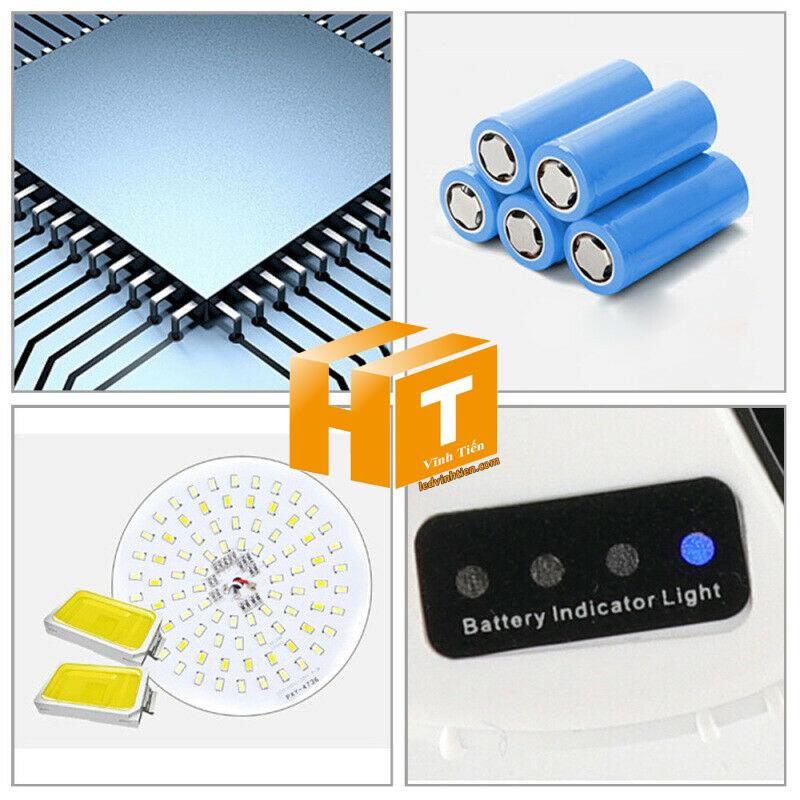 Đèn led búp năng lượng mặt trời 40W. sử dụng năng lượng mặt trời chiếu sáng từ 3-5 năm không lo tốn tiền điện,  hiêu JINDIAN, Thời gian chiếu sáng đến 12-14 giờ liên tục, Đèn có tính năng tự động bật khi trời tối và tắt khi trời sáng.  Lắp đặt dễ dàng, phù hợp mọi địa hình,  Thắp sáng suốt đêm, tránh xa sự dòm ngó của trộm cắp  Kèm theo điều khiển bật/tắt từ xa và chế độ hằng giờ hiện đại giúp cuộc sống của bạn dễ dàng và tiện lợi hơn bao giờ hết.  Tấm pin công nghệ Poly, tuổi thọ lên đến 10-12 năm. Thích hợp lắp đặt trong nhà, các ki ốt, nhà hàng, trên tàu thuyền. sản phẩm đèn năng lượng dùng ngoài trời, loại tốt, giá rẻ, chất lượng, siêu sáng, cảm úng chuyển động, chính hãng ledvinhtien.com