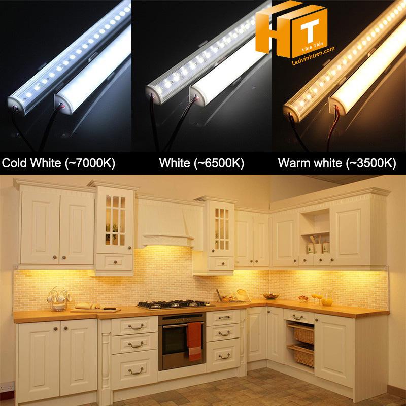 đèn led thanh nhôm dùng adapter 12v