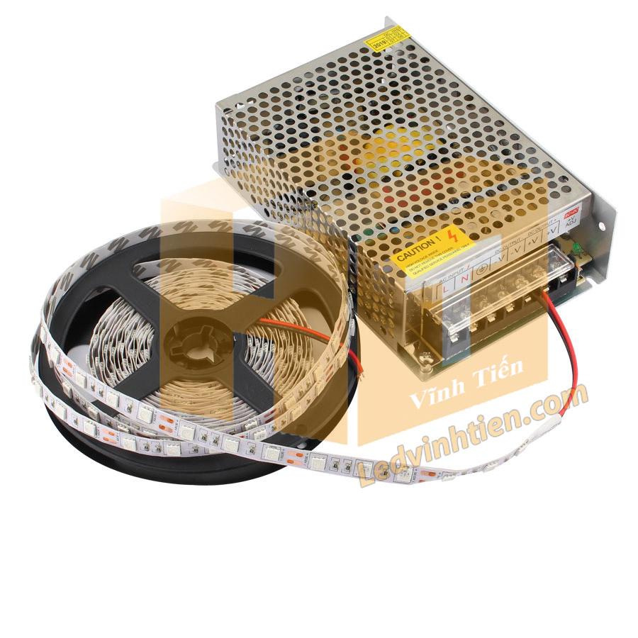 ứng dụng và cách đấu nối bộ nguồn với đèn led dây